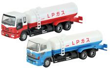 N gauge 2 gas tank trucks set Tomytec 229568 Tomix Japan Isuzu Hino