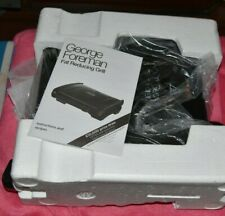 GEORGE FOREMAN FAMILY 19920 5 PORTION FAT REDUCING GRILL
