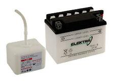 Batterie Elektra YB9-B avec de l'acide Aprilia Sport City One 50 2008 - 2010
