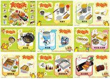 Miniature Re ment Orcara street Food 8 box full New