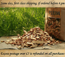 5 LITRE PLUM, BEST wood for smoking food,bbq smoking wood chips NOW BUY 2 GET 3