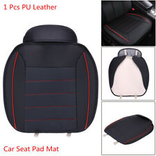 1pcs Black PU Leather Comfortable Car Chair Cover Full Surround Seat Pad Cushion