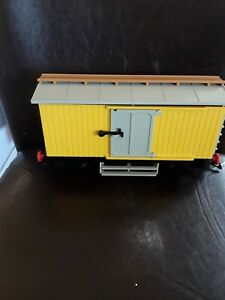Playmobil Train 4029 Yellow Cattle Car
