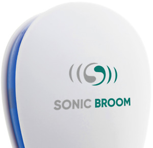 Sonic Broom Ultrasonic Pest Repeller Plug Mouse Insects Spider Mice Rats 2Pack