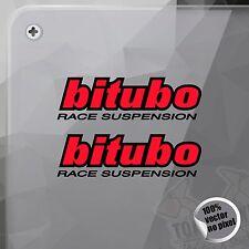 PEGATINA BITUBO RACE SUSPENSION VINYL STICKER DECAL ADESIVI