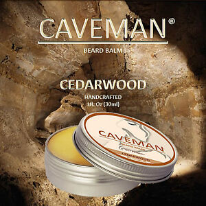 CAVEMAN® Beard Balm - Men's Leave-in Beard Conditioner and Smoother Tamer