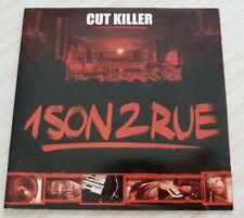 CD ALBUM 1 SON 2 RUE CUT KILLER 100% RAP FRANCAIS 24 TITRES 2002 COMPILATION