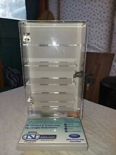 sun glasses cabinet fits 10 pair of glasses and locks with keys