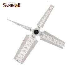 1-29mm Metric Wedge Taper Gauge Gap Feeler Gauge For Hole Measurement Tool Ruler