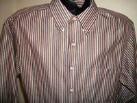 Men's Jos A Bank Travelers Tailored Fit L/S Button Down Shirt Size M Medium