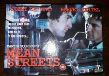 Mean Streets Limited Edition Boxset / VHS / Scorsese / Robert De Niro / Keitel