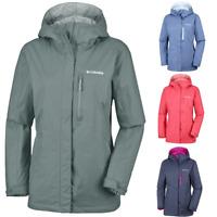 COLUMBIA Pouring Adventure II Waterproof Outdoor Hiking Jacket Hooded Womens New