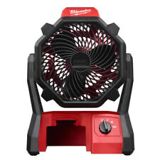 Milwaukee 0886-20 M18 18-Volt 2,350-Rpm Adjustable Jobsite Fan w/ AC Adapter