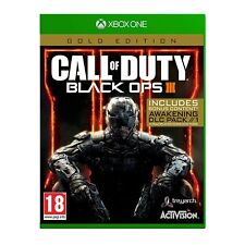 Call of Duty Black Ops 3 III - Gold Edition [Microsoft Xbox One Bonus COD DLC]