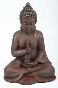 point-garden Buddha Gartenfigur sitzend 50 cm
