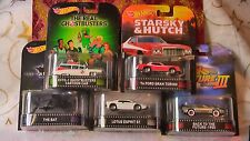 HOT WHEELS RETRO K 5 SET GHOSTBUSTERS TORINO TIME MACHINE +2 NEW FREE GIFT BAG