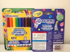 Crayola pip-squeaks skinniest washable markers, set of 8 , small size, big color