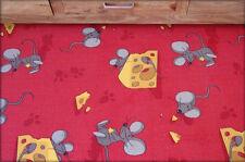 INFANTIL Alfombra Ratón Rojo y Azul Niños Play Area de Dormitorio Barato Any