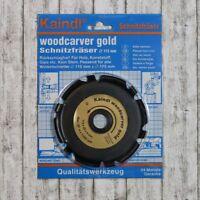 Kaindl Woodcarver Gold Schnitzfäser Ø115mm für Winkelschleifer
