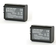 NP-FW50 FW50 Twin pack Compatible Camera Camcorder Battery Pack 1500mAh for Sony