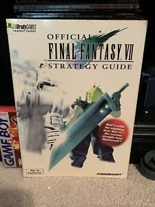 Final Fantasy 7 VII Official Strategy Guide Brady Games