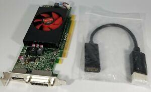 Dell OptiPlex SLIM Dual Monitor DisplayPort DVI HDMI Video Card Windows 10 GPU