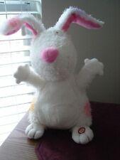 "Hallmark Singing Animated Gotta Hop Easter Bunny Plush 10"" Euc"