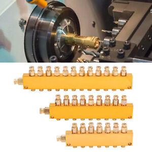 Oil Distributor Adjustable Brass Separator Divider Valve Lubrication System