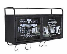 Metall Cupboard Industrial Wall Cabinet Wall Shelf Kitchen Cupboard & Towel Rail