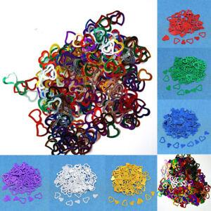 1lot MultiColor Heart Wedding Party Festival Confetti Table Decoration Supplies#