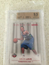 skybox ruby 2008-09 /50 kevin love rookie red bgs 9.5 very rare &  sensitive