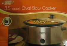 NEW Signature Classic OVAL SLOW COOKER 3.5 Qt COOK Food Dinner