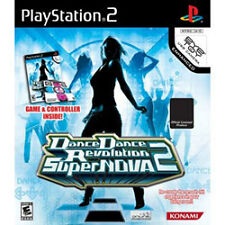DDR SUPERNOVA 2 BUNDLE + CONTROLLER/MAT/PAD ps2 *NEW/SEALED* Dance Revolution