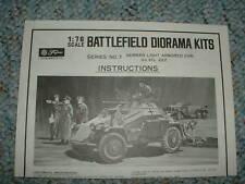 Fujimi 1/76 Battlefield Diorama #7  Instructions B.