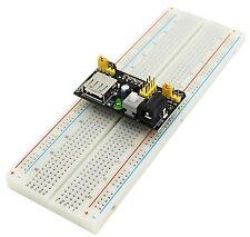 MB102 Breadboard Power Supply Module 3.3/5V+ Solderless Bread board PCB 830Point