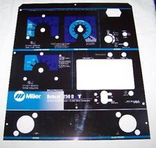 Miller Arc Welder Laser Cut Aluminum Bobcat 250D NT Control Plate, NEW