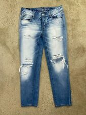 AE American Eagle Boy crop Skinny women jeans size 0