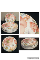 "Better Homes & Gardens Melamine 10.5"" Dinner Plates ANNABEL FLORAL Set of 8"