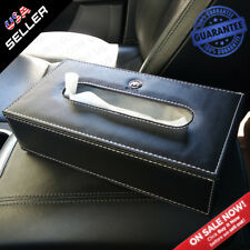 Buick Leather Auto Car Tissue Box Cover Napkin Paper Holder Towel Dispenser
