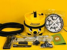 NUMATIC JAMES HOOVER - YELLOW - VACUUM CLEANER - HIGH SPEED 1400W HIGH WATTAGE!