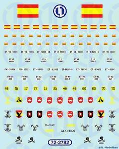 2782 - Decals Spanien - Heer 1:72