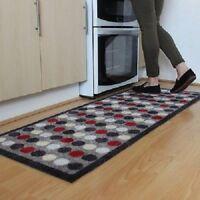 Kitchen Hallway Runner Entrance Mat Carpet Spots Design Non Slip 57x150cm