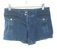 "New York & Co. Women's Blue Jean Shorts Size 4 (Waist 31"") Low-Rise *Q"
