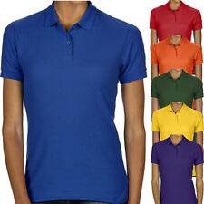 Gildan Damen Poloshirt Pique Polo Shirt T-Shirt S M L XL XXL