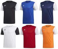 Adidas Mens Football Shirt Jersey TShirt Estro 19 Gym Sports Tee Top T-Shirt