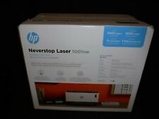 HP - Neverstop 1001nw Wireless Black-And-White Laser Printer - White Brand new