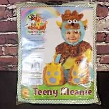 Rubies Teeny Meanie Monster Costume Infant 6-12 Months Blue Furry Halloween