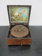 Spieluhr Polyphon Plattendurchmesser ca. 20,5 cm