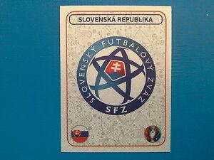 Panini Euro 2016 Swiss Star Edition Sticker n.128 Badge Slovenska Republika