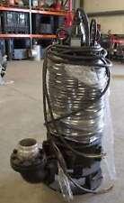 Tsurumi 100C222 High Head Cutter Sewage & Wastewater Pump, 30HP, 460V/3Ph, 2013